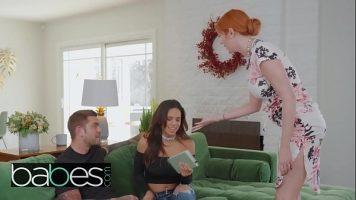 Femeie roscata impreuna cu una bruneta care ii place sa faca sex - Lauren Phillips, Juanlucho Com, Autumn Falls
